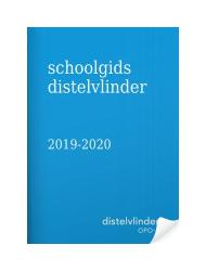 Schoolgids distelvlinder