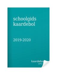 Schoolgids kaardebol